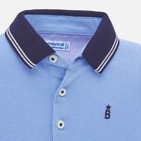 thumb-polo met zeilboten - blauw-2