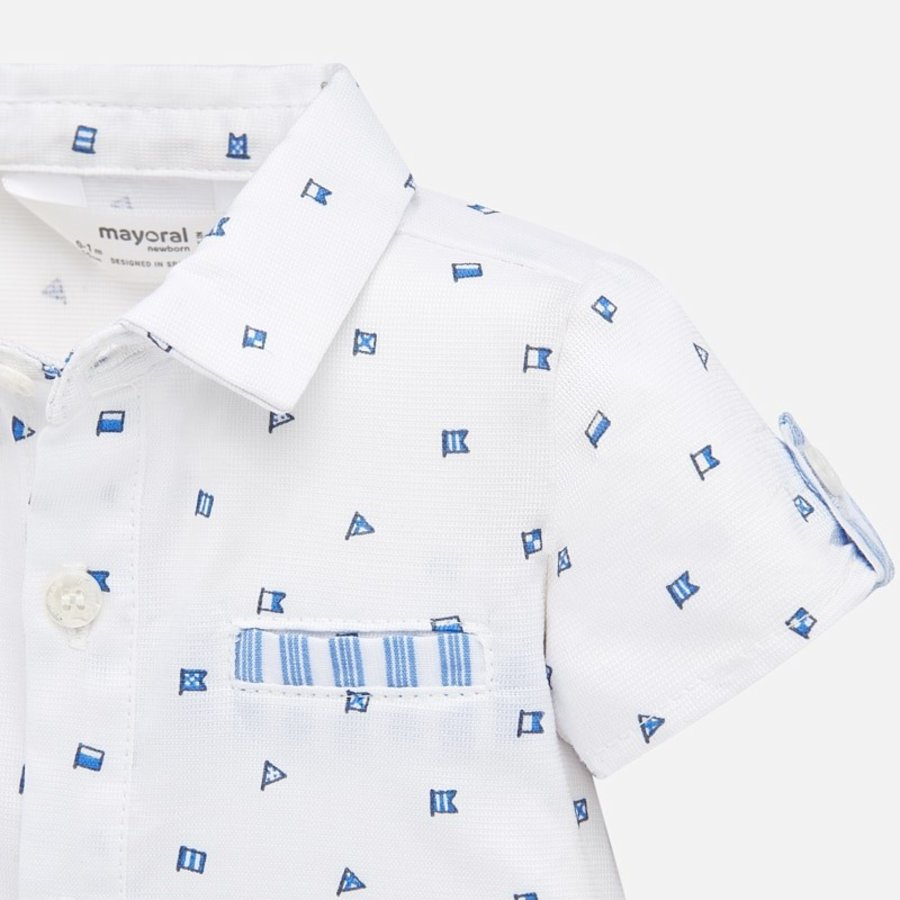 overhemd met broekje - blauw-2