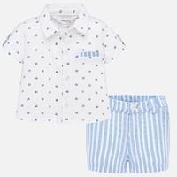 thumb-overhemd met broekje - blauw-1
