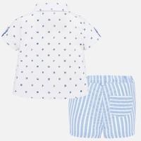 thumb-overhemd met broekje - blauw-3