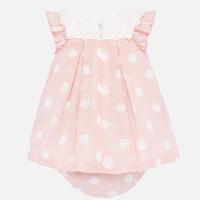 thumb-jurk met broekje broderie - roze-2