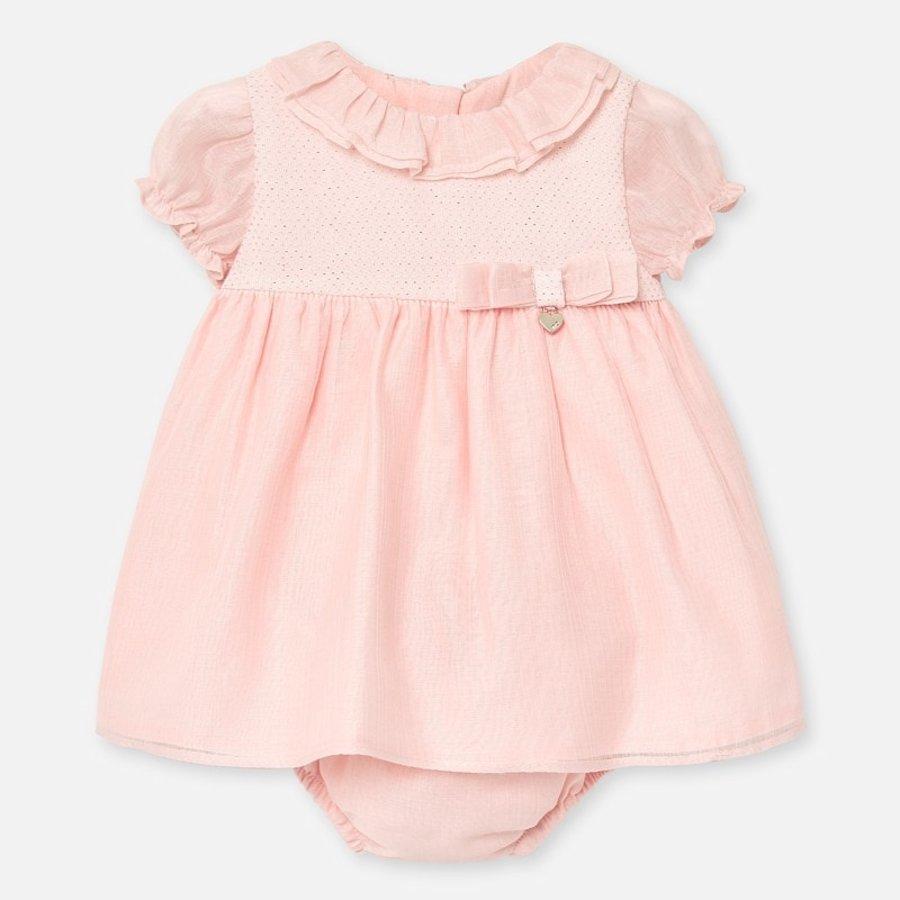 jurkje met broekje - roze-1