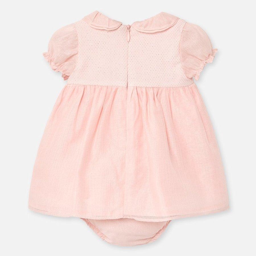jurkje met broekje - roze-2