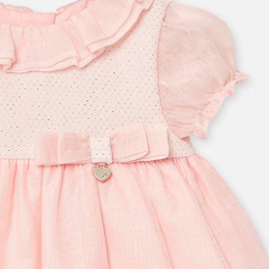 jurkje met broekje - roze-3