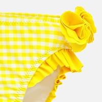 thumb-set van 2 zwembroekjes - geel en margriet-2