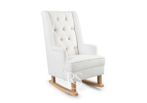 Rocking Seats schommelstoel Kids Rocker - Snow White / Natural