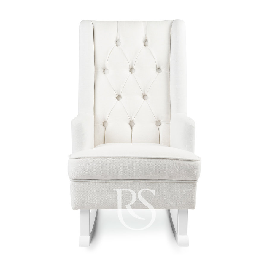 schommelstoel Kids Rocker - Snow White / White-3