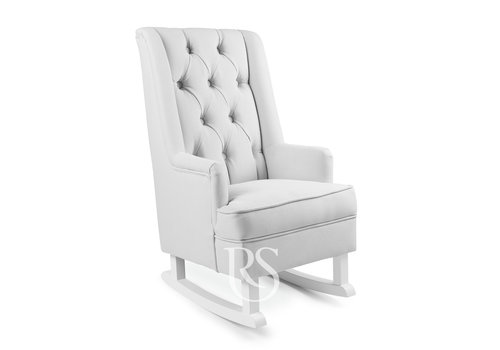Rocking Seats schommelstoel Kids Rocker - Silver Grey