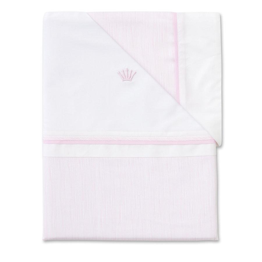 dekbedovertrek met sloopje voor box of wieg - Pretty Pink-1