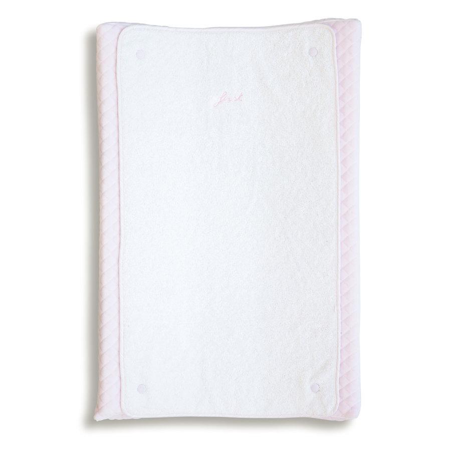 aankleedkussenhoes met verschoonmatje - Pretty Pink-1