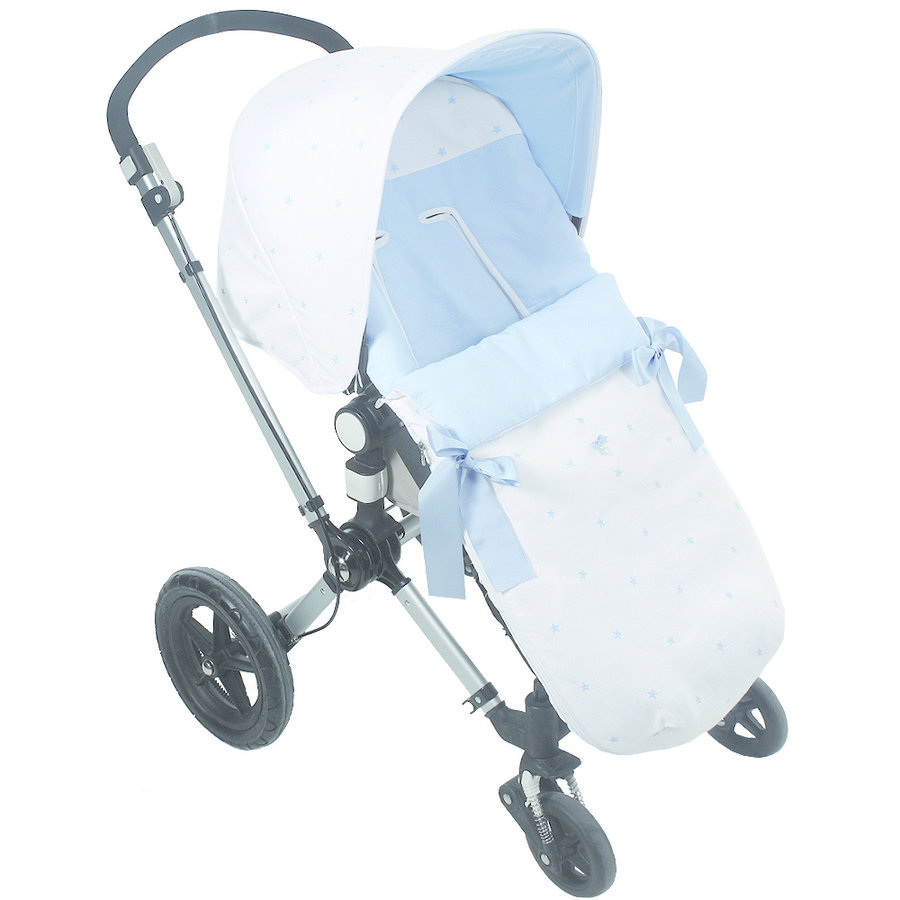 voetenzak buggy - blauw-1