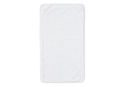 First - My First Collection twee badstof doekjes voor verzorgingskussen - Crystal White