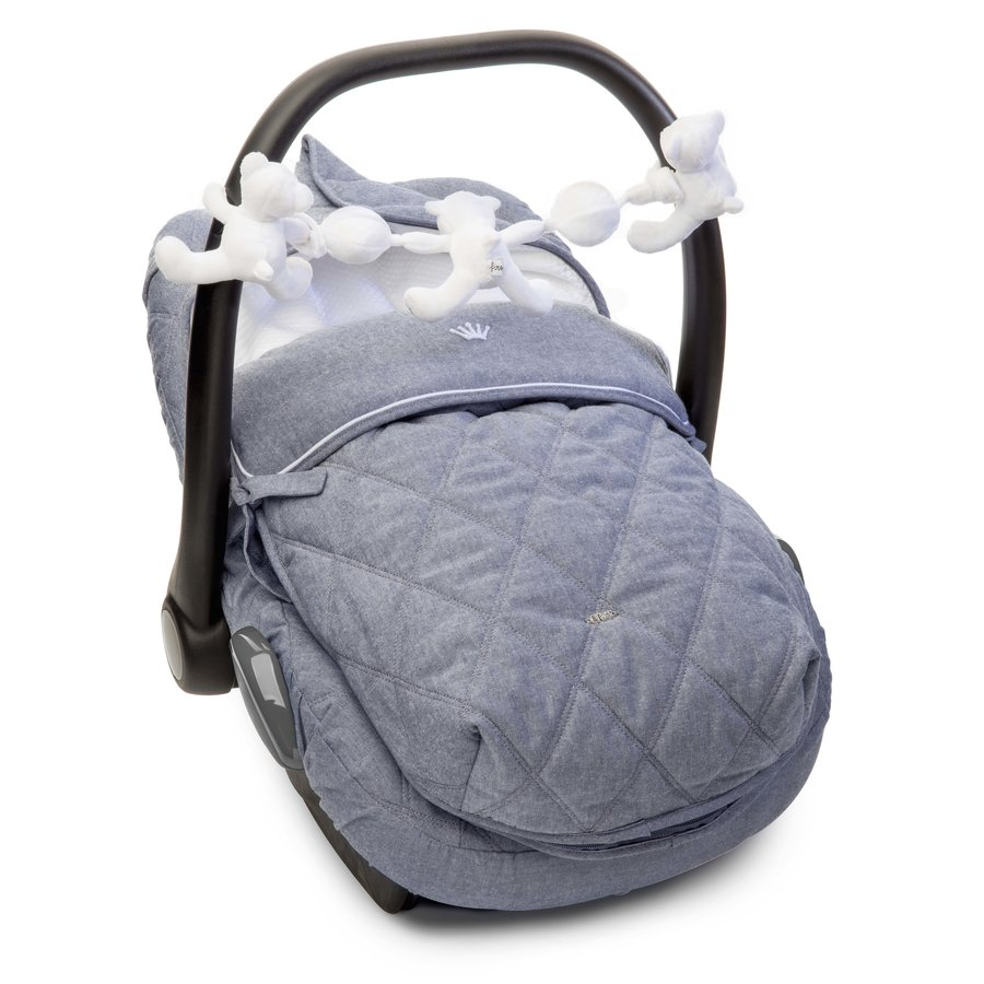 autostoel voetenzak - True Blue-2