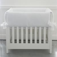 Soft Grey Parkbeschermer/wieg - Gewafeld