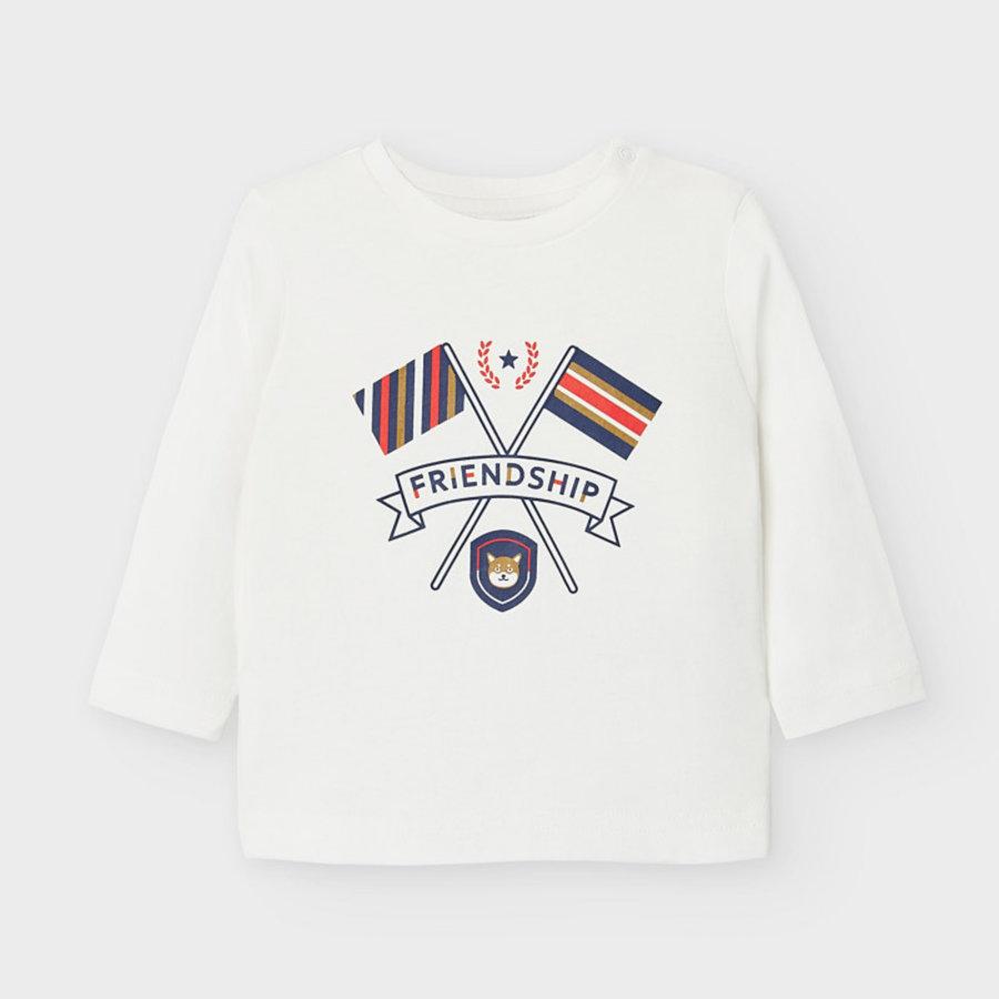 t-shirt met opdruk - offwhite-1