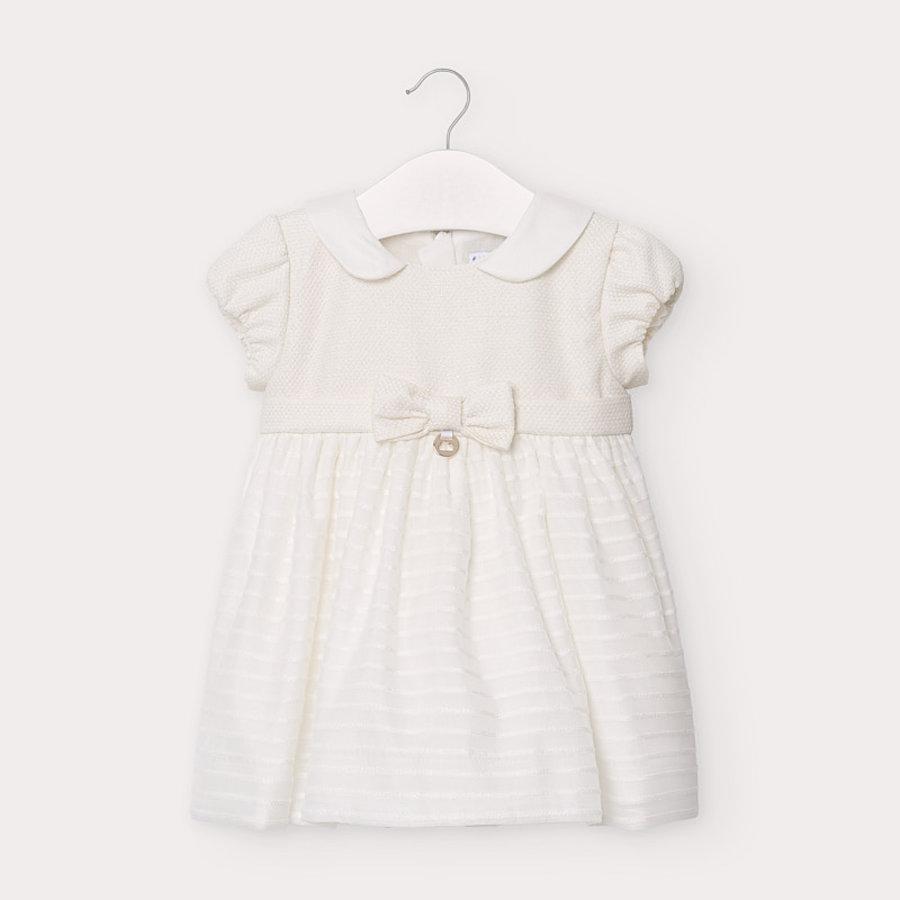 jurkje met strik - offwhite-1