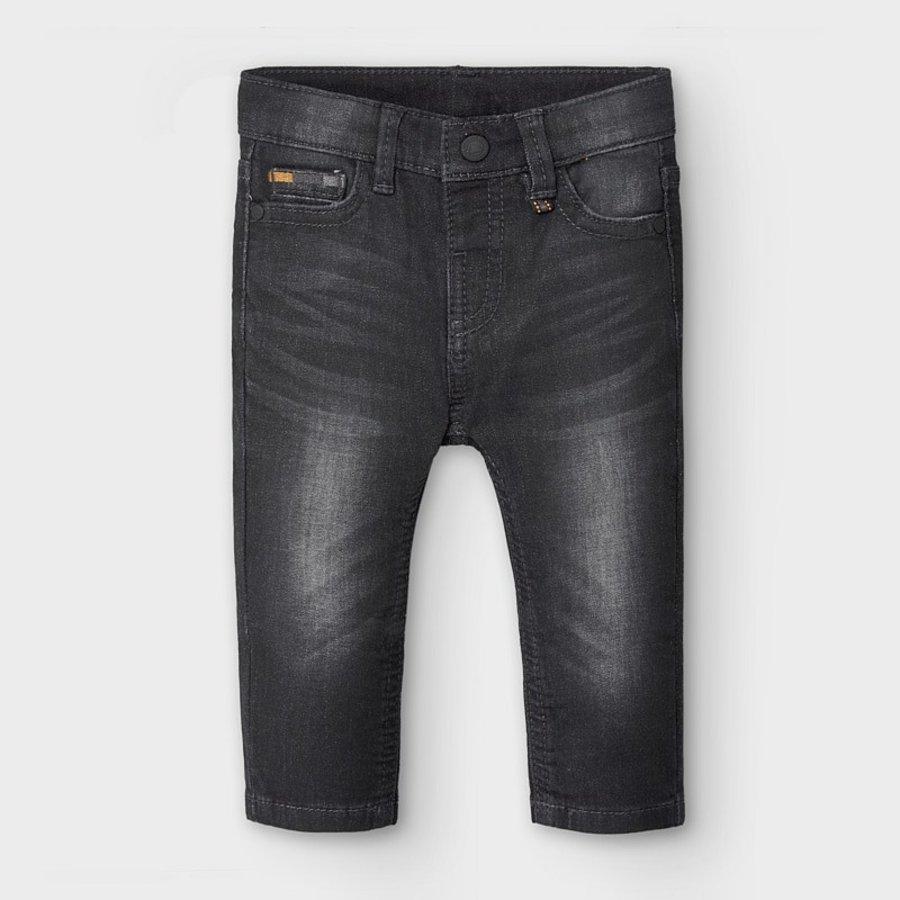 spijkerbroekje stretch - zwart-1