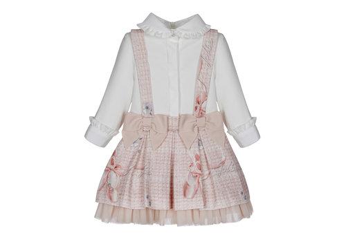 Lapin House blouse met rokje ballerina - roze