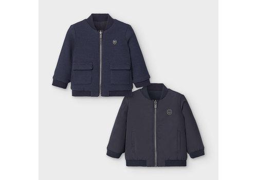 Mayoral jasje omkeerbaar - blauw