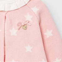 thumb-set van top, rokje en vestje - roze-3