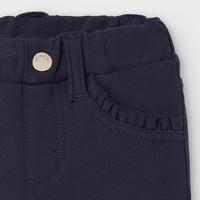 thumb-legging met ruches - donkerblauw-3