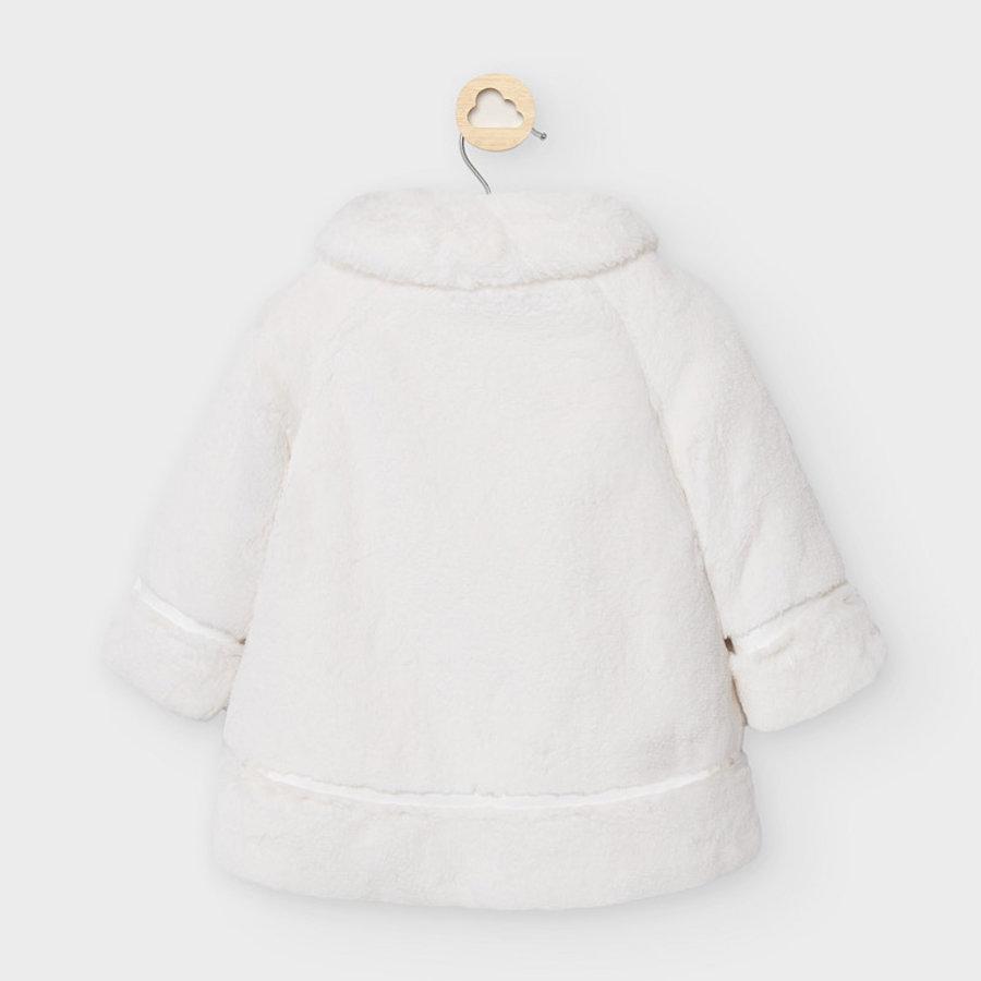 faux fur jasje met strik - offwhite-2