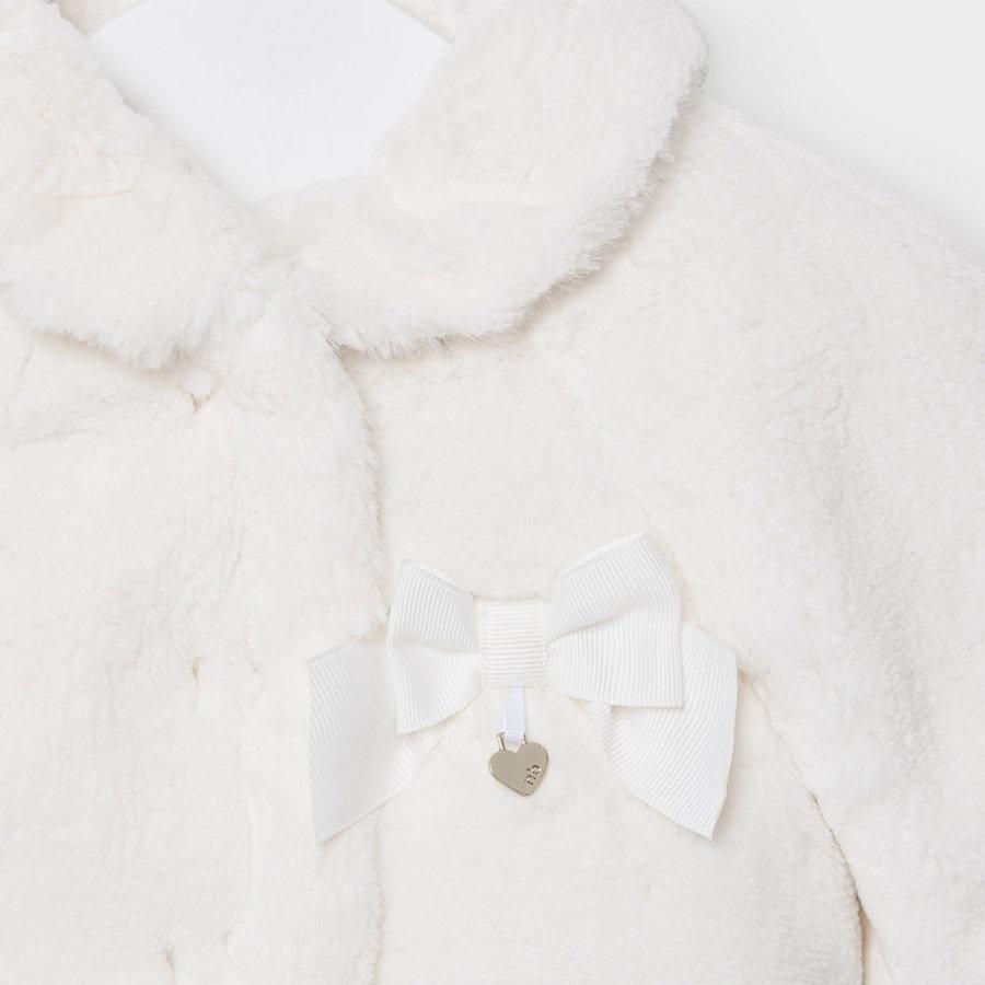 faux fur jasje met strik - offwhite-3