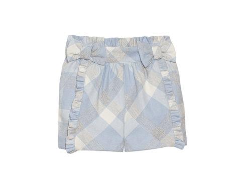 Patachou broekje met strikjes - blauw