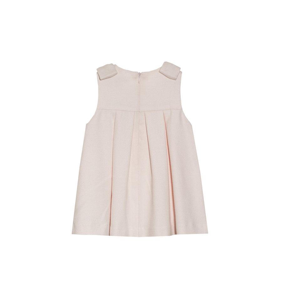 jurk met strikken - roze-2