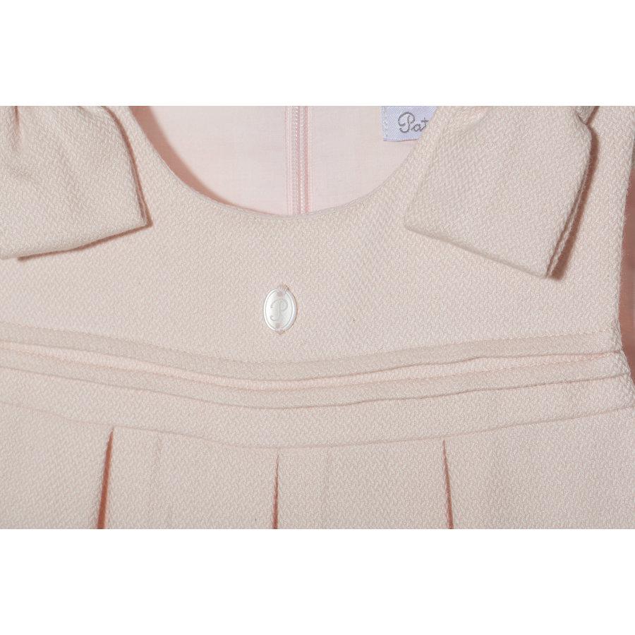 jurk met strikken - roze-3