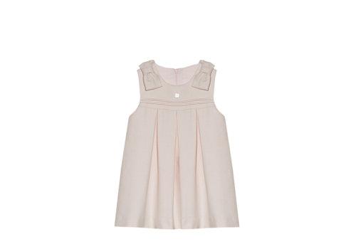 Patachou jurk met strikken - roze