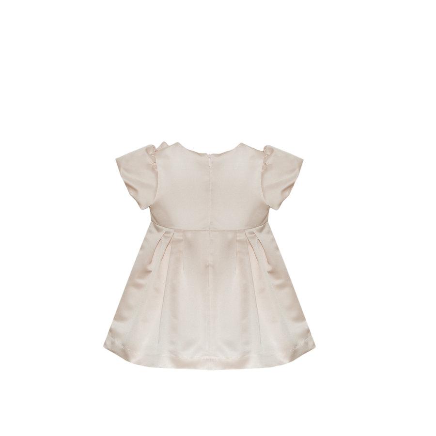 jurk met strik - roze-2