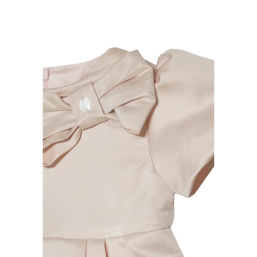 jurk met strik - roze-3