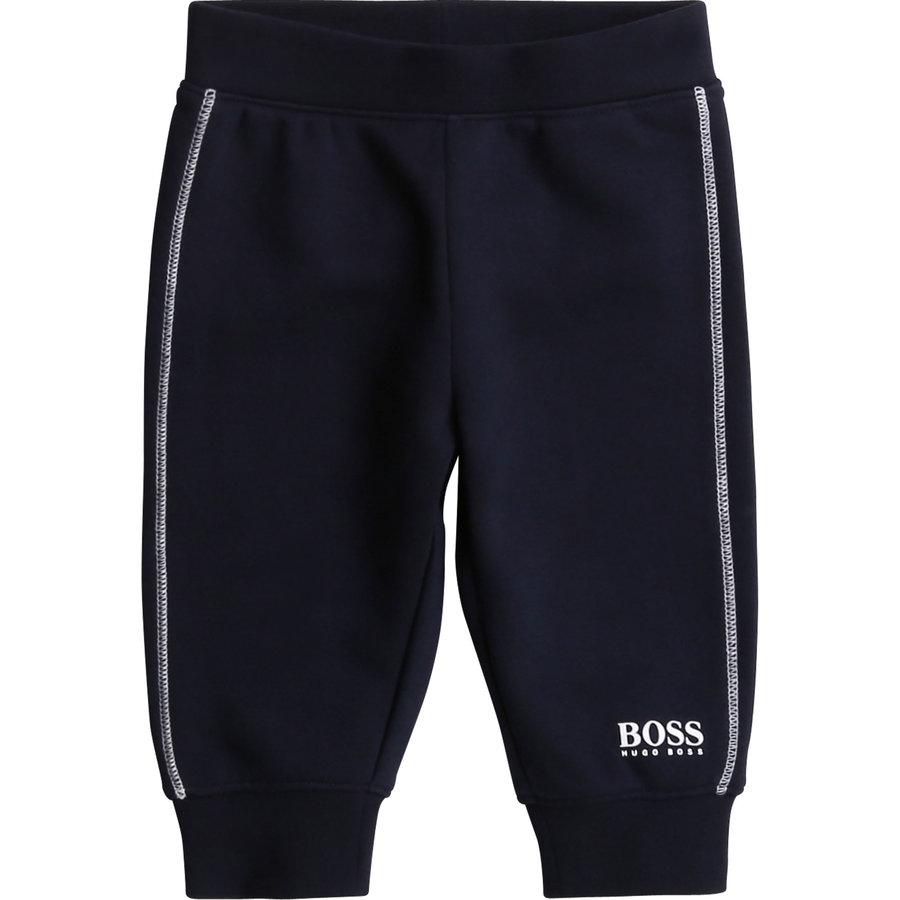 joggingbroekje met bies - blauw-1
