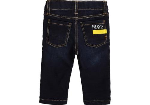 Hugo Boss spijkerbroekje boss stretch - blauw