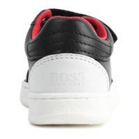 thumb-sneakers leer - zwart-2