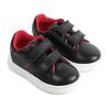 Hugo Boss sneakers leer - zwart