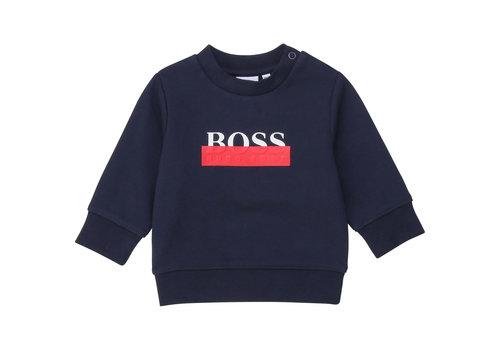 Hugo Boss trui boss - blauw