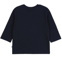 thumb-t-shirt boss - blauw-2