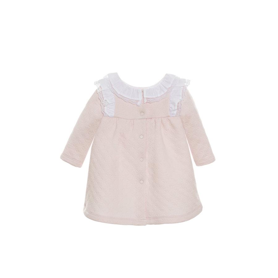 jurkje met kanten kraag - roze-3