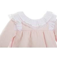 thumb-jurkje met kanten kraag - roze-2