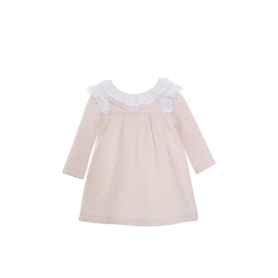 jurkje met kanten kraag - roze-1