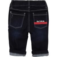 thumb-spijkerbroekje stretch boss - blauw-1