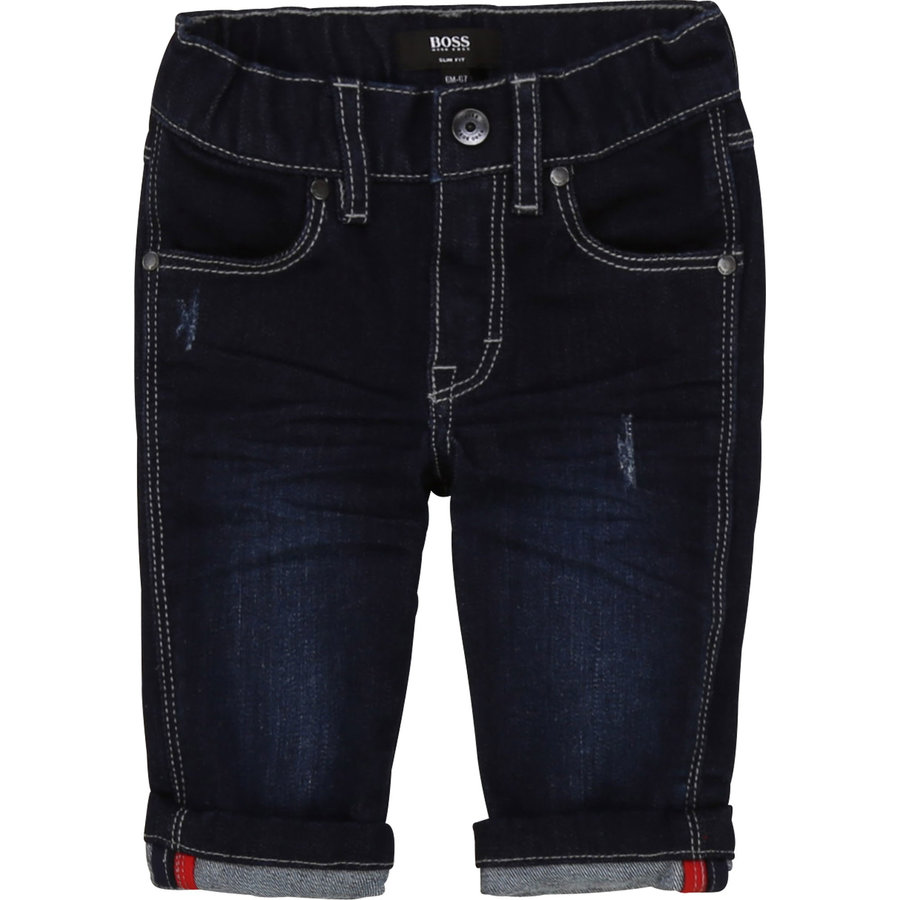 spijkerbroekje stretch boss - blauw-2