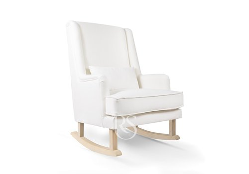 Rocking Seats schommelstoel Bliss Rocker - Snow White / Natural