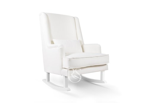 Rocking Seats schommelstoel Bliss Rocker - Snow White / White