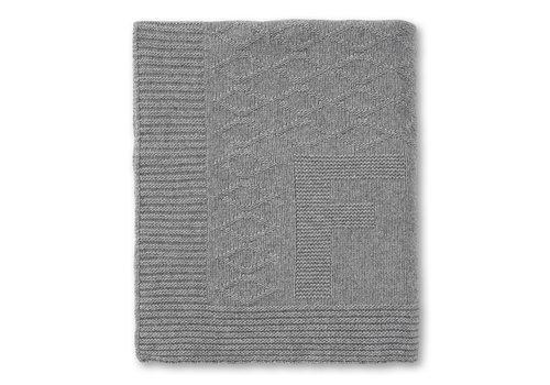 First - My First Collection deken met wol en cashmere voor ledikant - Endless Grey