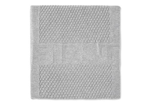 First - My First Collection gebreid deken voor ledikant - Moonlight Grey