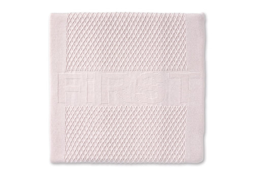 First - My First Collection gebreid deken voor ledikant - Pretty Pink