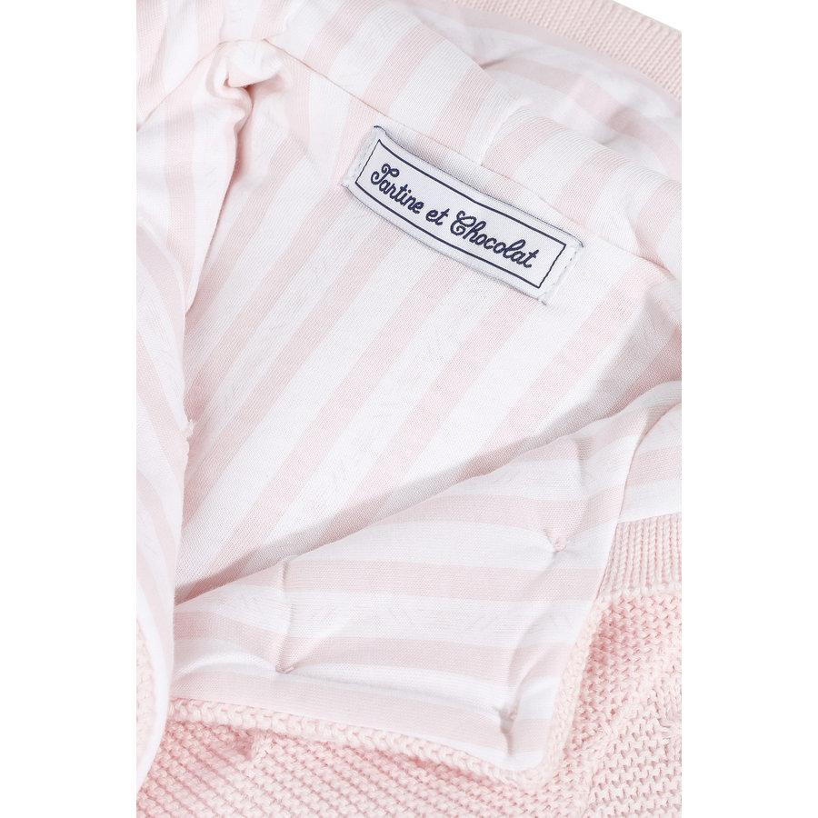 vestje gebreid - roze-3